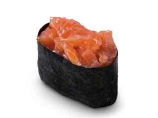 Гункан лосось